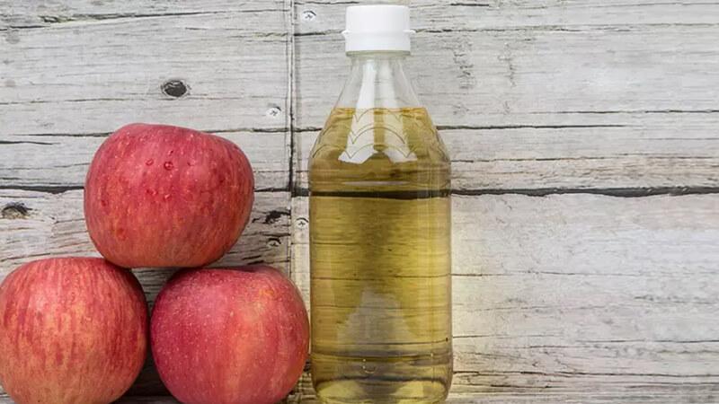 رفع بوی بد دهان - سرکه سیب