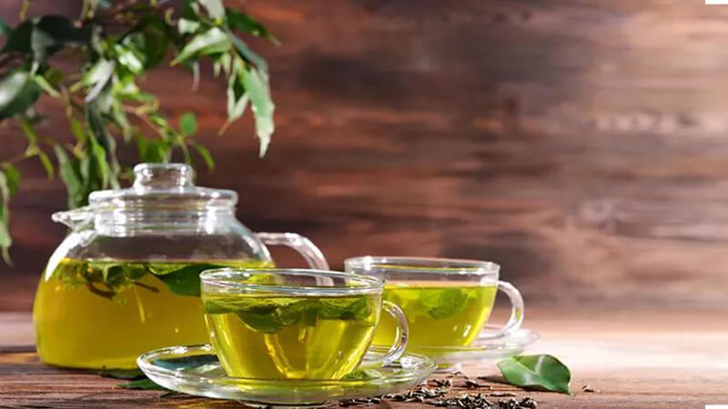 رفع بوی بد دهان - چای سبز