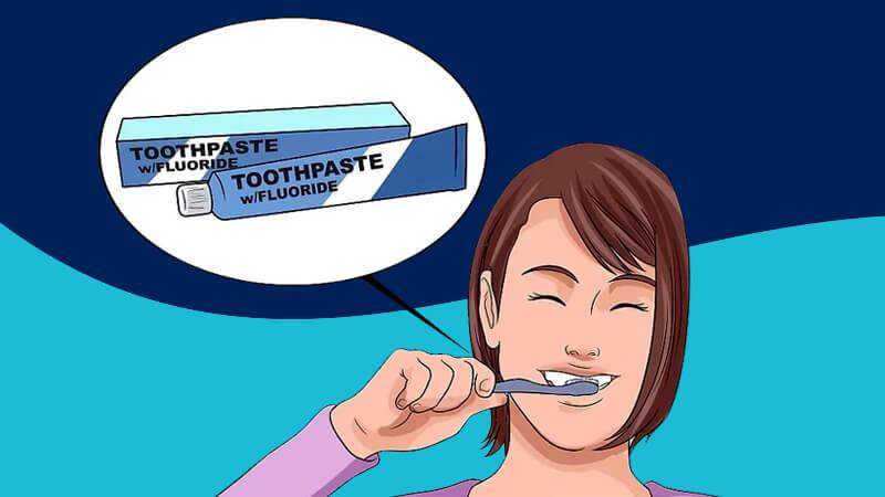 تقویت مینای دندان - با خمیر دندانهای حاوی فلوراید مسواک بزنید.