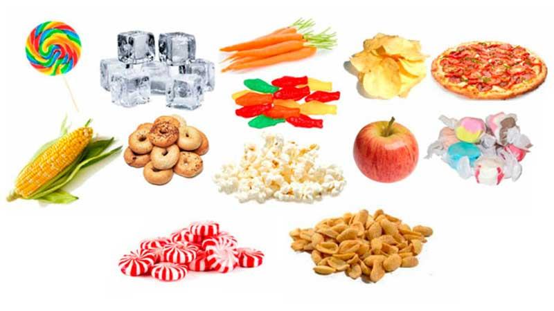 از خوردن غذاهای چسبناک و سفت پرهیز کنید - مراقبت از ایمپلنت دندان