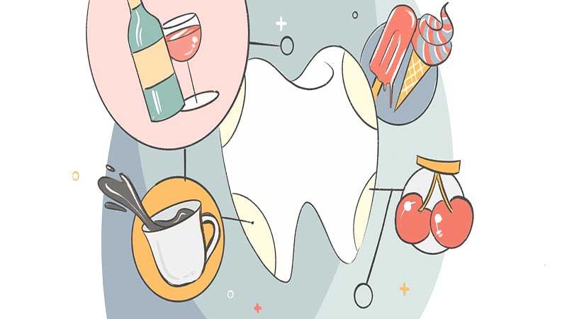 مانع ایجاد لکههای دندان شوید