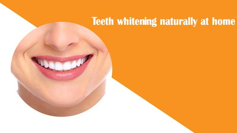 در ادامه ۶ روش آسان را برای سفید کردن دندان ها به طور طبیعی بررسی میکنیم.